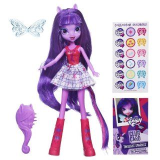 My Little Pony Equestria Girls   Twilight Sparkle Doll Toys & Games