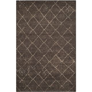 Safavieh Tunisia Dark Brown Rug (3 X 5)