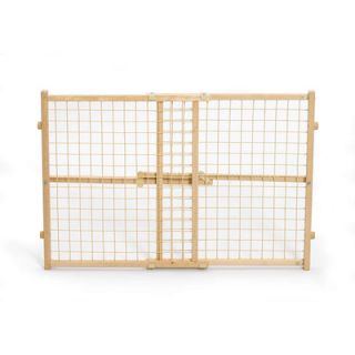 Midwest Homes For Pets Wire Mesh Wood Pet Gate