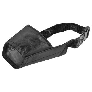 INSTEN Black Size 2 Strong Fabric Nylon Soft Comfortable Dog Muzzle