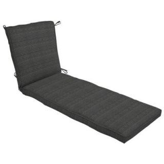 Hampton Bay Bentley Texture Outdoor Chaise Lounge Cushion NB73273X 9D1