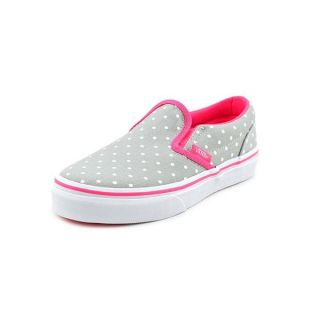 Vans Girl (Youth) Classic Slip On Basic Textile Casual Shoes