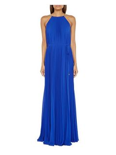 Ted Baker Hannaa Pleated maxi dress Blue