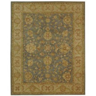 Safavieh Antiquity Blue/Beige 8 ft. 3 in. x 11 ft. Area Rug AT312A 9
