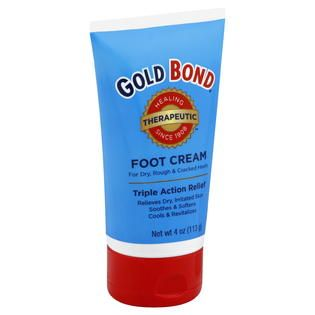 Gold Bond  Foot Cream, Therapeutic, 4 oz (113 g)