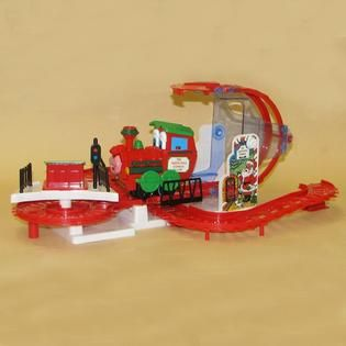 Battery/Operated North Pole Express Train with Sound & Light