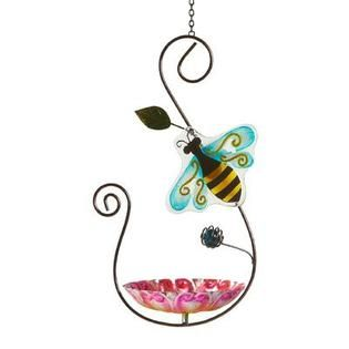 Essential Garden Bee Metal Bird Feeder   Outdoor Living   Outdoor