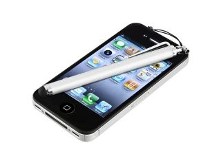 Insten Clear Pudding TPU Rubber Case Cover + LCD Cover + Stylus Pen compatible with Samsung  Galaxy Note II N7100