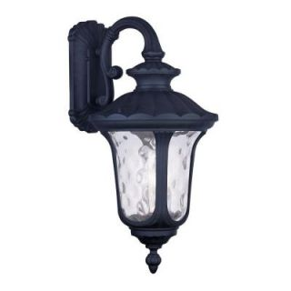 Filament Design Providence Wall Mount 3 Light Outdoor Black Incandescent Lantern CLI MEN7857 04