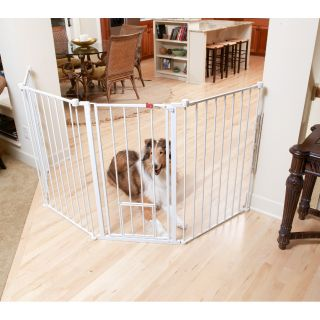 Carlson Extra Tall Flexi Pet Gate   Shopping   The Best