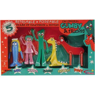 NJ Croce GP 115 The Original Gumby And Friends Box Set   Toys & Games