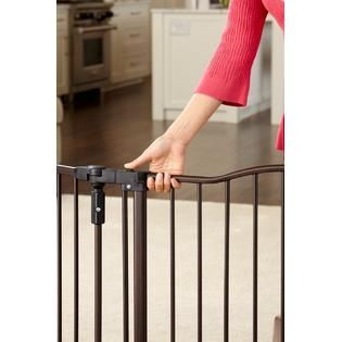 North States Industries  Deluxe Decor Metal Gate   Matte Bronze, Model