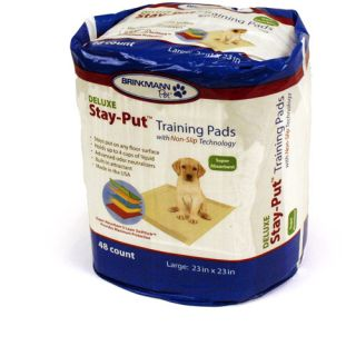 Brinkmann Pet Deluxe Stay Put Pet Pads