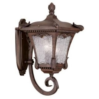 Filament Design Providence Wall Mount 3 Light Outdoor Imperial Bronze Incandescent Lantern CLI MEN7986 58