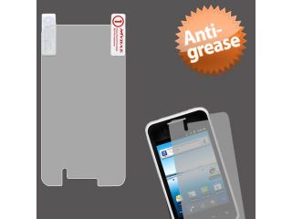 Clear Anti grease LCD Screen Protector Cover for LG Optimus Elite 696