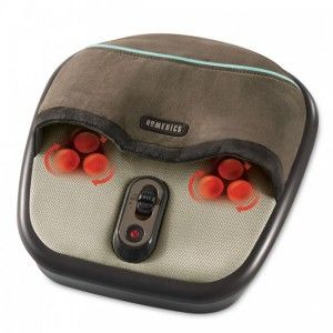 HoMedics FMS 275H Air Compression & Shiatsu Foot Massager w/Heat