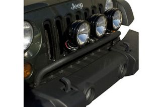 Rugged Ridge Light Bar   Rugged Ridge Jeep Light Bar Front Bumper Kit