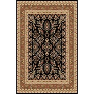 Safavieh Lyndhurst Collection Traditional Black/ Ivory Rug (9 x 12)