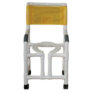 MJM International Standard Deluxe Shower Chair with True Vertical Open