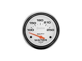Auto Meter Phantom Electric Water Temperature Gauge