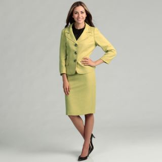 Evan Picone Womens Three button Skirt Suit   Shopping   Top