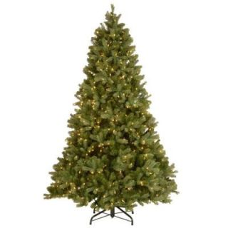 National Tree Company 6 ft. Downswept Douglas Fir Artificial Christmas Tree with Clear Lights PEDD3 312 60