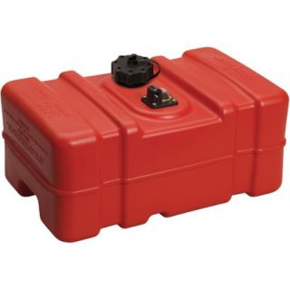 "Moeller Low Perm Certified Fuel Tank 9 Gallon with 1/4"" Fuel Pick Up Adapter and Mechanical Direct Sight Gauge"
