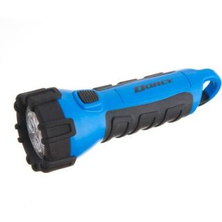 Dorcy Floating Waterproof LED Flashlight with Carabineer Clip, 32 Lumens, Blue