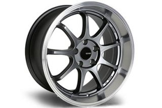 "Enkei 478 885 6550BK   5 x 4.5"" Bolt Pattern Black with Machined Lip 18"" x 8.5"" TENJIN Wheels   Alloy Wheels & Rims"