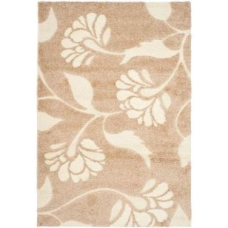 Safavieh Florida Shag Beige/Cream 8 ft. 6 in. x 12 ft. Area Rug SG459 1311 9