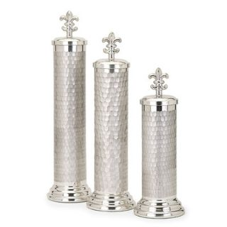 House of Hampton Neve 3 Piece Glass Canister Set