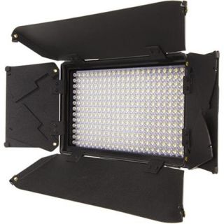 iKan iLED312 v2 On Camera Dual Color LED Light with Digital Display ILED312 V2