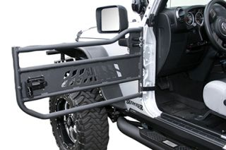 2007 2016 Jeep Wrangler Doors   Aries AR15009   Aries Jeep Tubular Doors