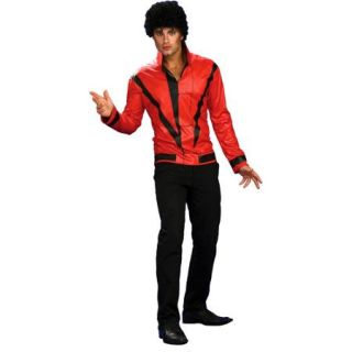 Michael Jackson Red Thriller Jacket Deluxe Adult Halloween Costume