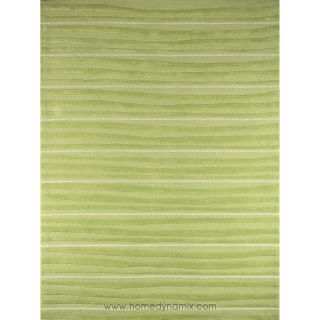 Home Dynamix Kidz Image Mellow Green Stripe Area Rug