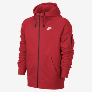 Nike AW77 Fleece Full Zip Mens Hoodie.