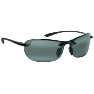 Maui Jim Hanalei Sunglasses   Gloss Black Frame/Netural Grey Lens