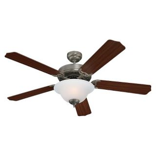 Sea Gull Lighting Ceiling Fan, Brushed Nickel Finish