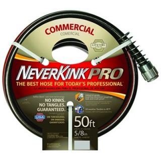 NeverKink Pro Garden Hose, Commercial Duty, 5/8 In. x 50 Ft. Model# 8844 50