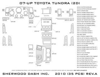 2007 2013 Toyota Tundra Wood Dash Kits   Sherwood Innovations 2010 N50   Sherwood Innovations Dash Kits