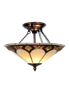 Dale Tiffany TH10493 Antique Bronze Ceiling Light