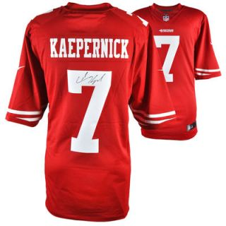 Colin Kaepernick San Francisco 49ers  Authentic Autographed Nike Scarlet Limited Jersey