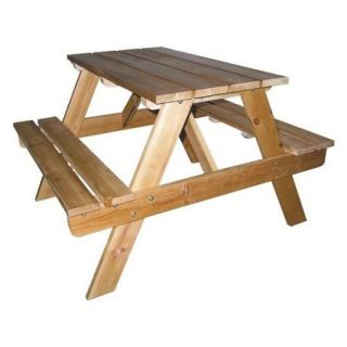 Ore International Kids Indoor/Outdoor Picnic Table