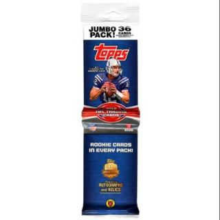 NFL 2012 Topps Football Cards Trading Card Jumbo Pack