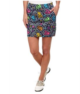 Loudmouth Golf Jolly Roger Skort Navy, Clothing