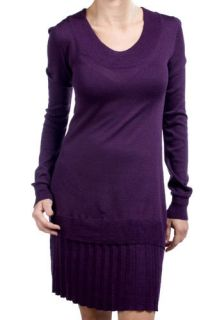 Tulle Clothing Flirty Purple Sweater Dress  Mod Retro Vintage Dresses