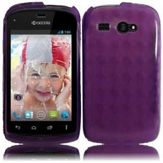 INSTEN Purple TPU Phone Case Cover for Kyocera Hydro C5170   15855179