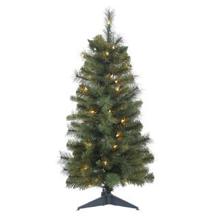Vickerman 36 Prelit Classic Mixed Pine Artificial Christmas Tree with