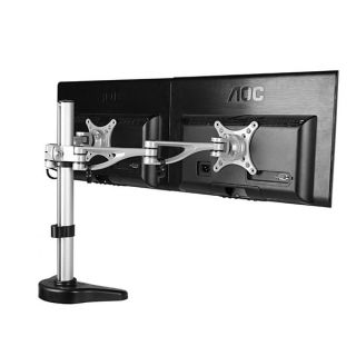 Fleximounts 10 to 27 inch Dual Arm Computer Monitor Desk Mount