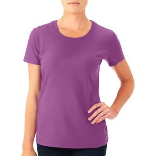 Fruit of the Loom Women's Short Sleeve Crew T Shirt